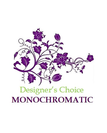 Designer's Choice – Monochromatic EXAMPLE ONLY