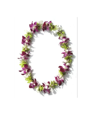 Single Mixed Lei