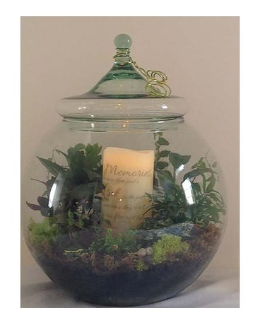 12 Terrarium with Memory Candle (SFDTERR95)