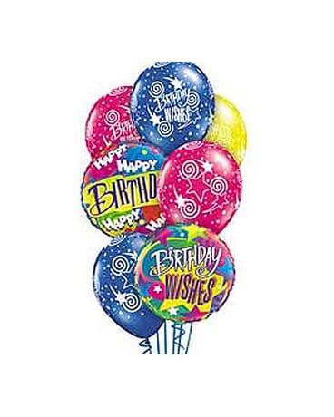 Birthday Wishes Theme Balloon Bouquet