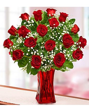 Modern flowers delivery silver spring md colesville floral design quick view blooming love premium red roses mightylinksfo