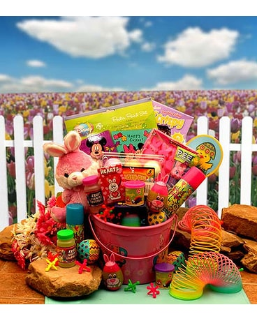 Little Pinkie Bunnies Easter Fun Pail