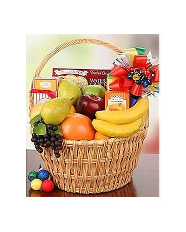 Sweet and Fruity Birthday Basket