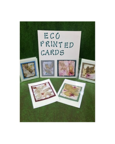 Eco Printed Cards