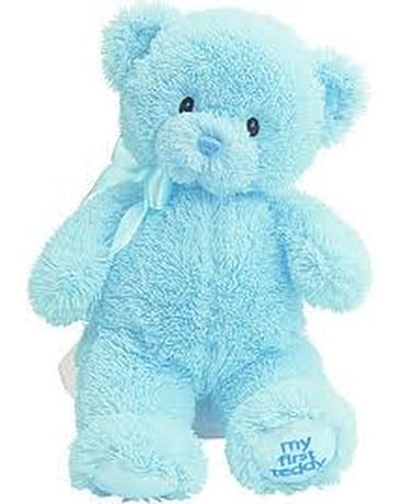 My First Teddy - Blue