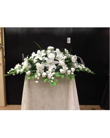 Silk casjet spray rental in durham nc flowers by gary silk casjet spray rental mightylinksfo
