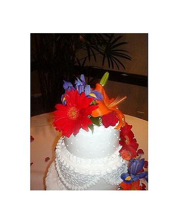 Outstanding Wedding Cakes In Durham Nc Flowers By Gary Funny Birthday Cards Online Elaedamsfinfo
