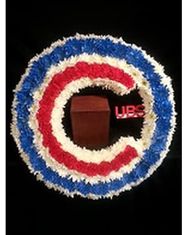 Cubs Memorial Wreath