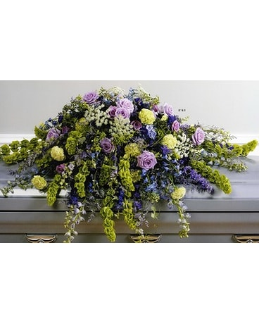 Wildflowers Casket Spray