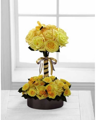 FTD Sun Blushed Rose Bouquet