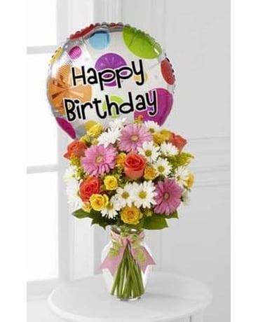 Birthday Cheer Bouquet - D4-4902