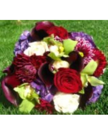 Love's Passion Wedding Bouquet