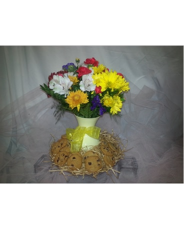 Flowers and Cookies