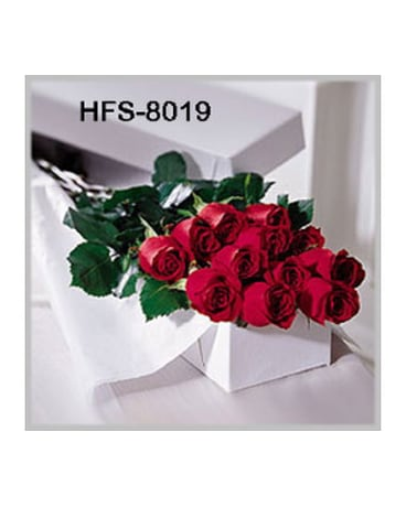Classic Long-Stemmed Roses - Red - Boxed 12/18/24