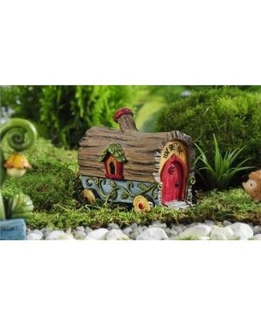 Enchanted Forest Log Design Covered