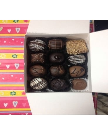 12 Piece Gournmet Chocolate Truffles