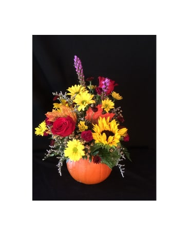 Pick of the Patch Pumpkin bouquet