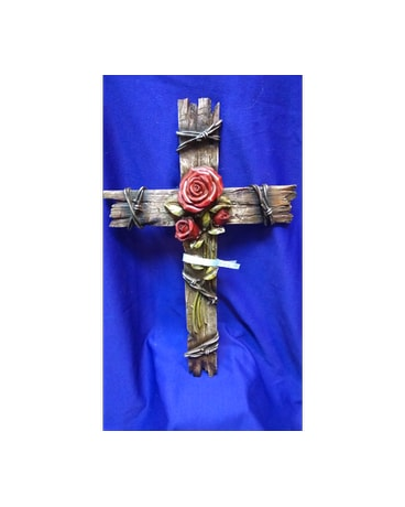 Large Rose Cross