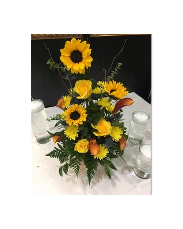 Naples florist flower delivery by naples floral design sunflower sunshine mightylinksfo