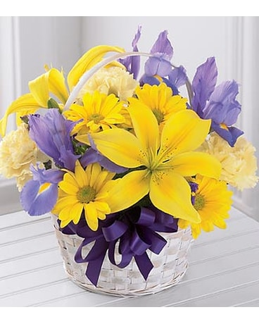 The FTD® Spirit of Spring™ Basket - BASKET INCLUDE