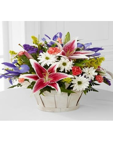 The Wondrous Nature™ Bouquet by FTD® - BASKET INCL