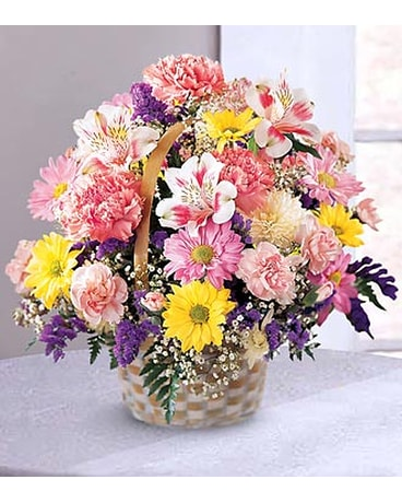 FTD Basket Of Cheer Bouquet