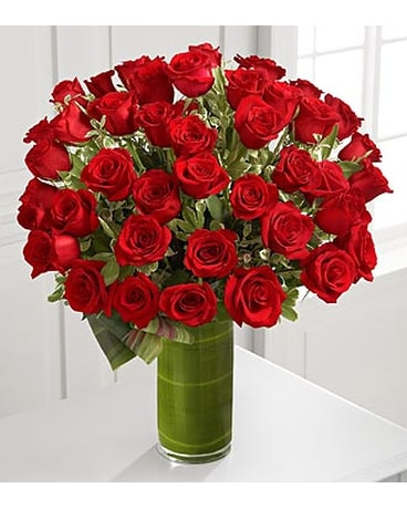 Fate Luxury Rose Bouquet - 48 Stems of 24-inch Pre