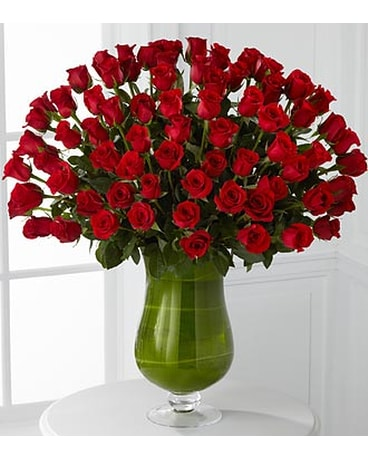 Attraction Luxury Rose Bouquet - 72 Stems of 24-in