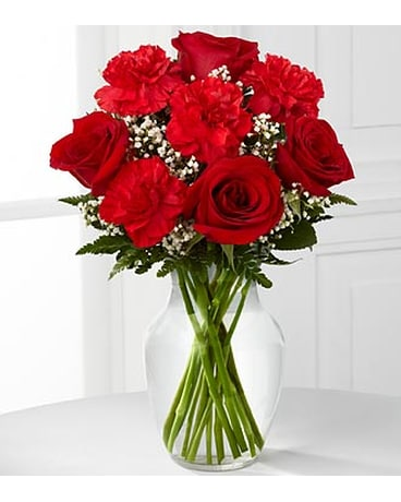The FTD® Sweet Perfection™ Bouquet - VASE INCLUDED
