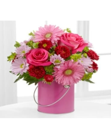 The FTD® Color Your Day With Happiness™ Bouquet PC