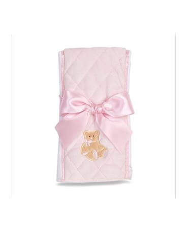 Baby Girl Burp Cloth
