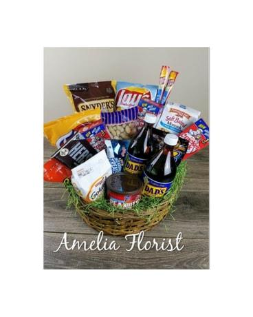 Man Cave Basket in Amelia OH - Amelia