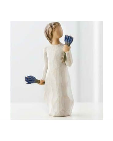 Lavender Grace  Willow Tree Figurine