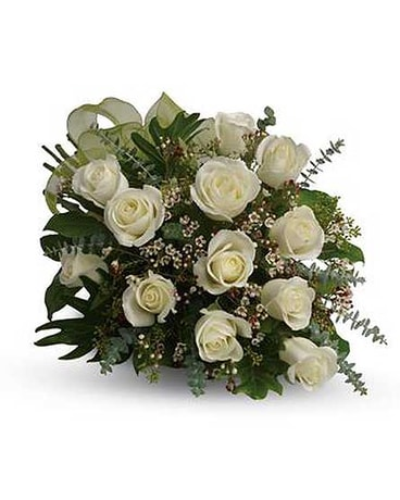 White Roses blanches
