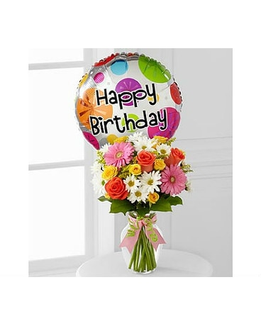 The Birthday Cheer™ Bouquet by FTD®