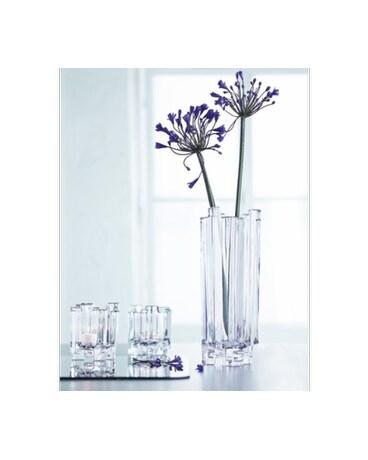 Hikari Crystal Vase In Houston Tx Village Greenery Flowers