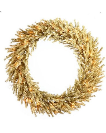 30in. Champagne Wreath