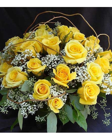 4 Dozen Yellow Roses