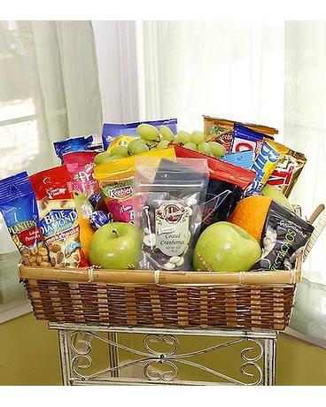 Quick view Snack Basket & Gift Baskets Delivery Longview TX - Casa Flora Flower Shop