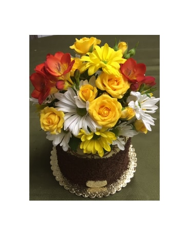 Freesia Heaven Cake