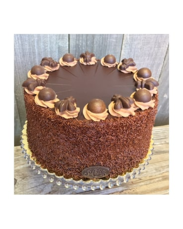9 Inch Chocolate Fudge