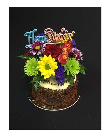 Quick View Birthday 5in 7th Heaven Cake