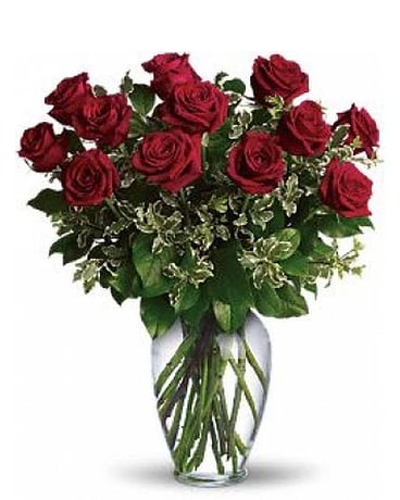 Always On My Mind- 1 Dozen Red Roses
