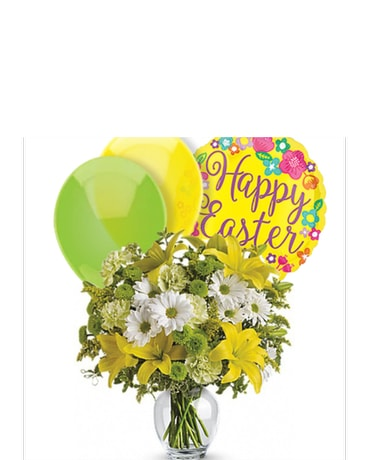 Easter flowers 1 800 balloons quick view brightly blooming mightylinksfo