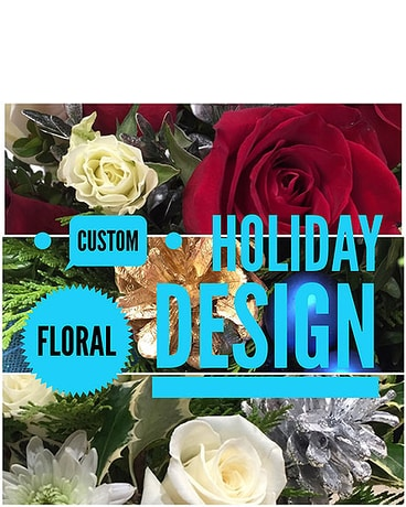 Custom Winter Floral Design