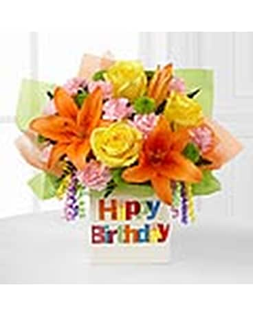 The Birthday Celebration Bouquet By FTDR