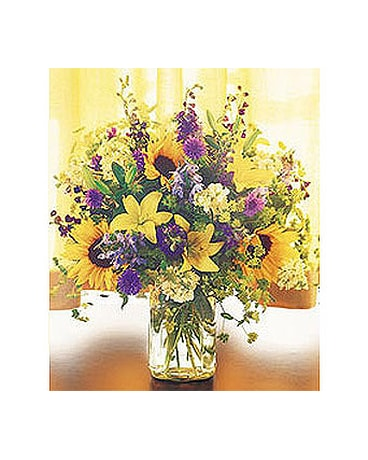 Field of Flowers in Vase