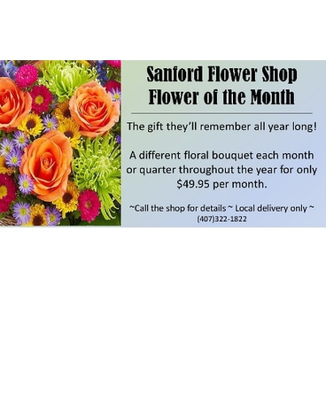 Sanford Flower of the Month