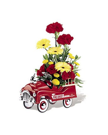 2F100 FIRE ENGINE BOUQUET (Gift Bouquet)
