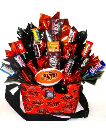 CBOSU8 ''OSU Treats'' Gift & Candy Bouquet